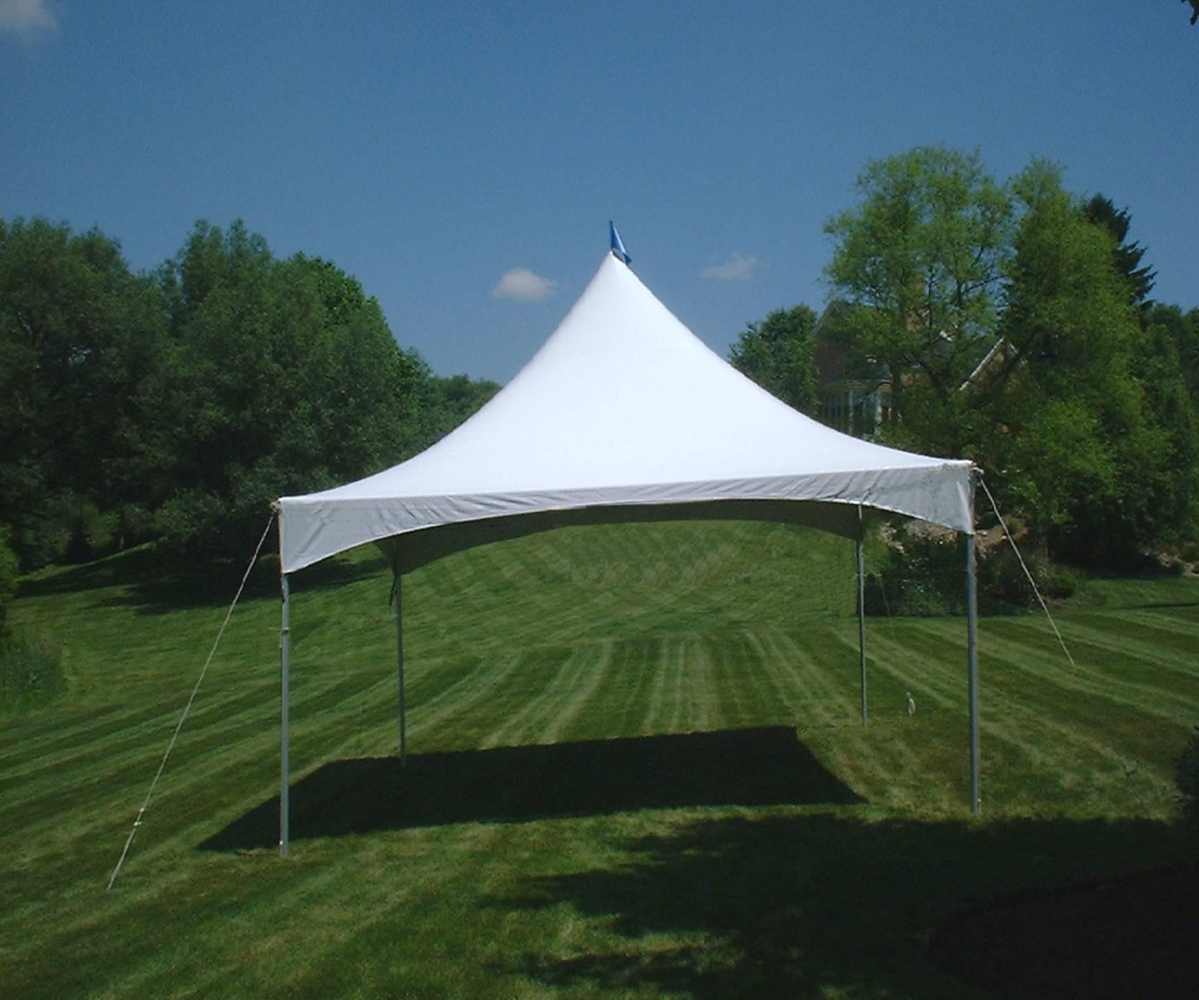 Frame Tent 15\' X 20\' - Set Up | Rental Time General Rental Center, Inc.