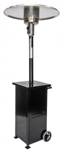 PATIO HEATER COLLAPSIBLE BLACK